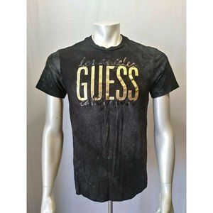 GUESS Jeans T Shirt Men's Medium Black